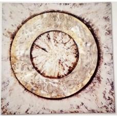 obraz - malba na plátně 70x70cm kruhy 101072