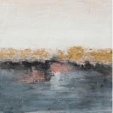 obraz - malba na plátně 60x60cm hladina 203151