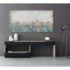 obraz - malba na plátně 70x140cm