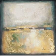 obraz - malba na plátně 70x70cm horizont 351192