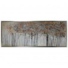 obraz - malba na plátně 150x60cm