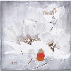 obraz_malba_na_plátně_60x60cm_tři_bílé_květy
