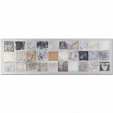 obraz - malba na plátně 150x50cm srdicka