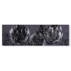 obraz - malba na plátně 150x50cm Tulip