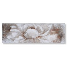 obraz - malba na plátně 150x50cm květ